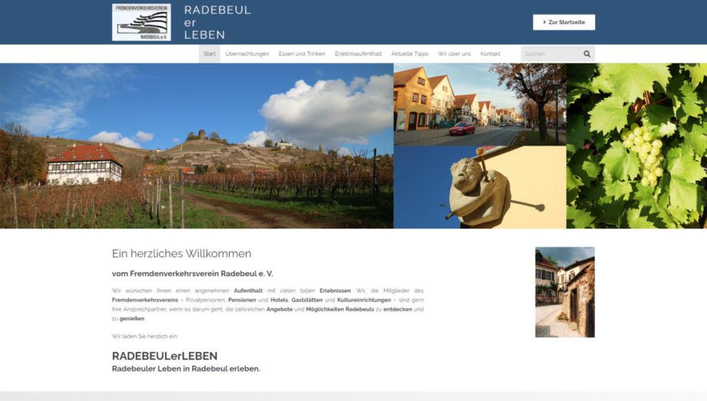 Fremdenverkehrsverein 1 - Webseiten für Dein Unternehmen von Webagentur Strg Web