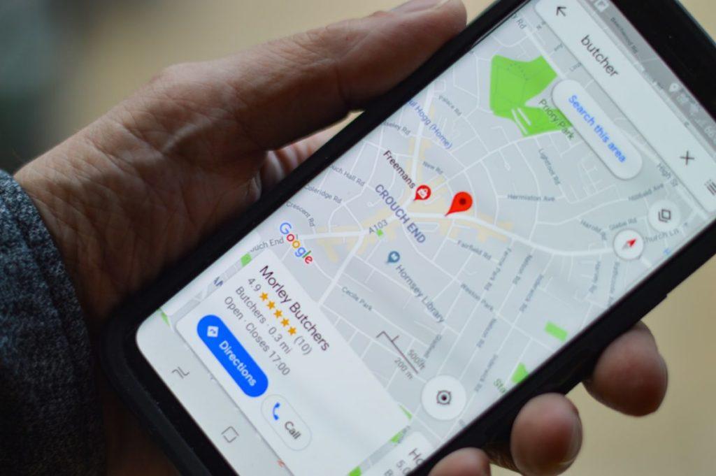 Google Maps App - Webseiten für Dein Unternehmen von Webagentur Strg Web