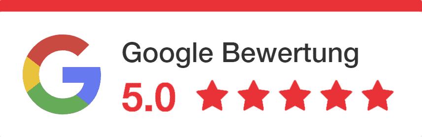 Google Bewertung Google My Business - Webseiten und Webdesign von der Online Marketing Agentur Strg Web